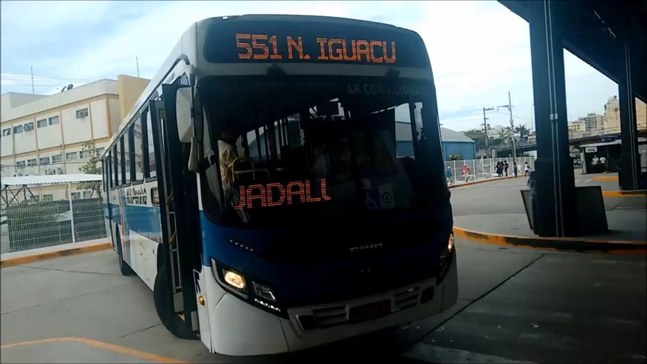 Onibus 551 - Nova Iguaçu - Penha