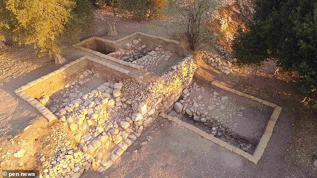 Sítio arqueológico em Quiriate-Jearim