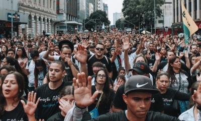 Marcha para Jesus em Curitiba