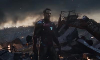 Homem de Ferro em Vingadores - Ultimato