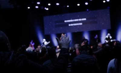 Culto na Assembleia de Deus em Gravataí