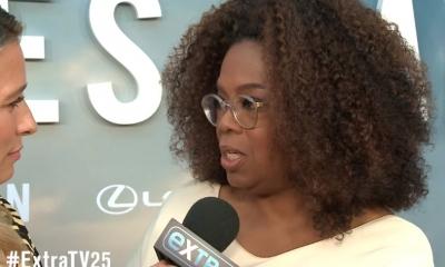 Oprah Winfrey durante entrevista