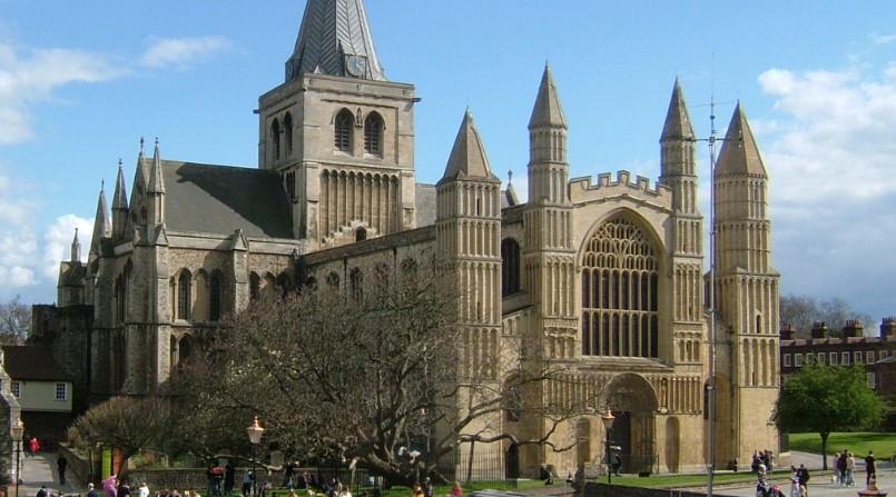 Rochester Cathedral vista por fora
