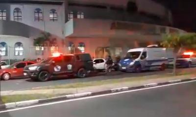 Viaturas em frente à sede da AD Roraima
