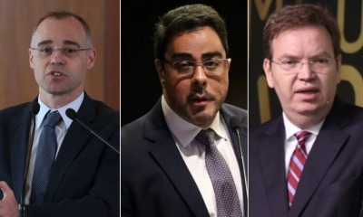 André Mendonça, Marcelo Bretas e William Douglas