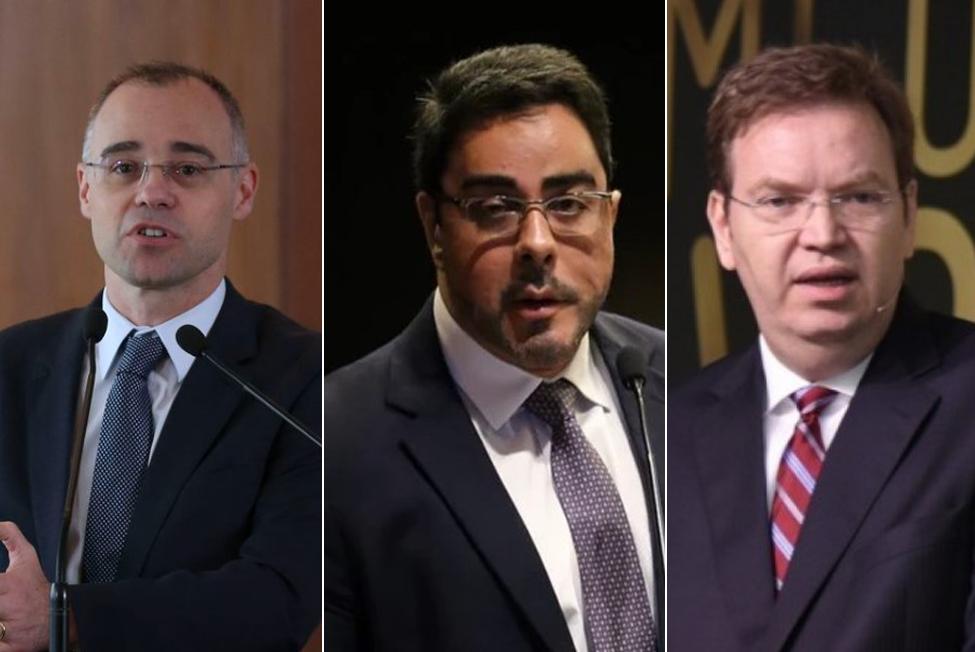 André Mendonça, Marcelo Bretas e William Douglas