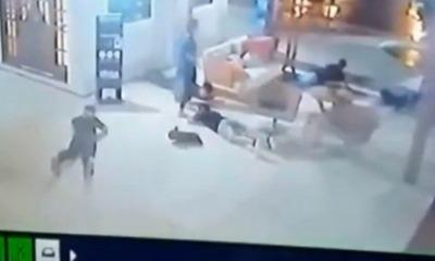 Bandidos invadem local de batismo