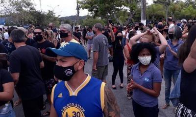 Protestos em Búzios