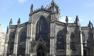 Catedral de Santo Egídio, na Escócia