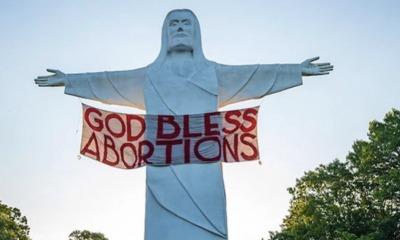 Cristo de Ozarks - Deus abençoe o aborto
