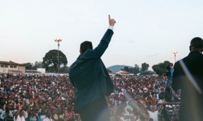 Cruzada evangelística na Tanzânia