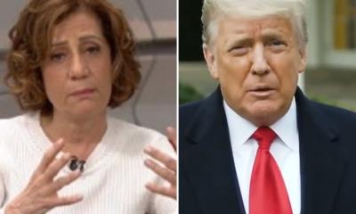 Donald Trump e Miriam Leitão