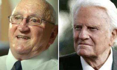 George Palmer e Billy Graham