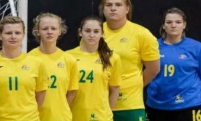Hannah Mouncey é atleta trans da seleção australiana feminina de handebol. Será que é preciso dizer quem é ela na foto