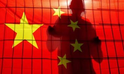 Ilustração de homem preso China AID