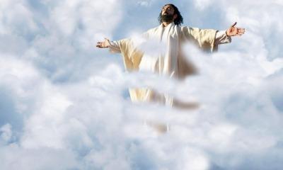 Jesus Cristo subindo aos céus