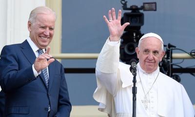 Joe Biden e papa Francisco