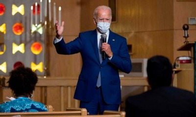 Joe Biden na Igreja
