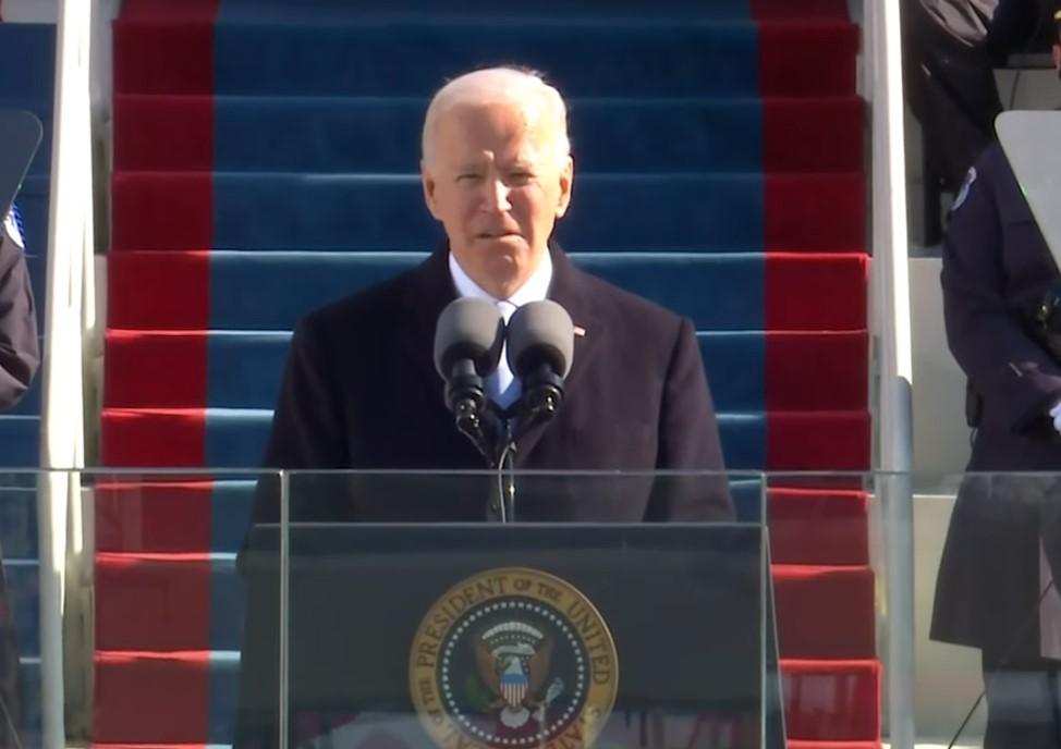 Joe Biden na posse