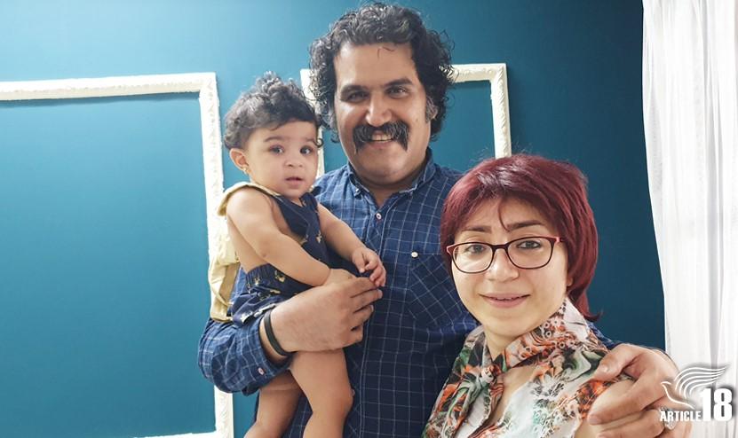 Lydia, Sam Khosravi e Mryam Falahi