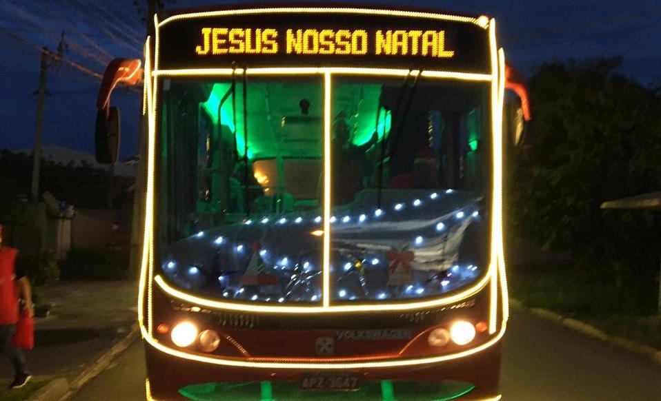 """Ônibus """"Jesus Nosso Natal"""