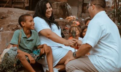 Missionária Patrícia Vouga e Ricardo Farias na cracolândia