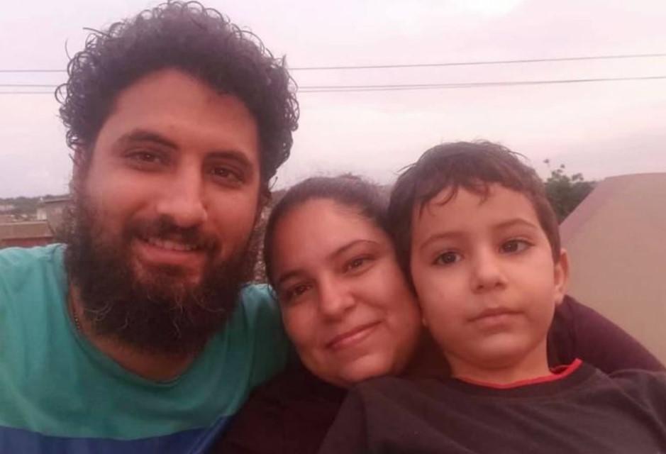 pastor Yarian Sierra Madrigal cubano e família