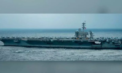 Porta-aviões USS Theodore Roosevelt
