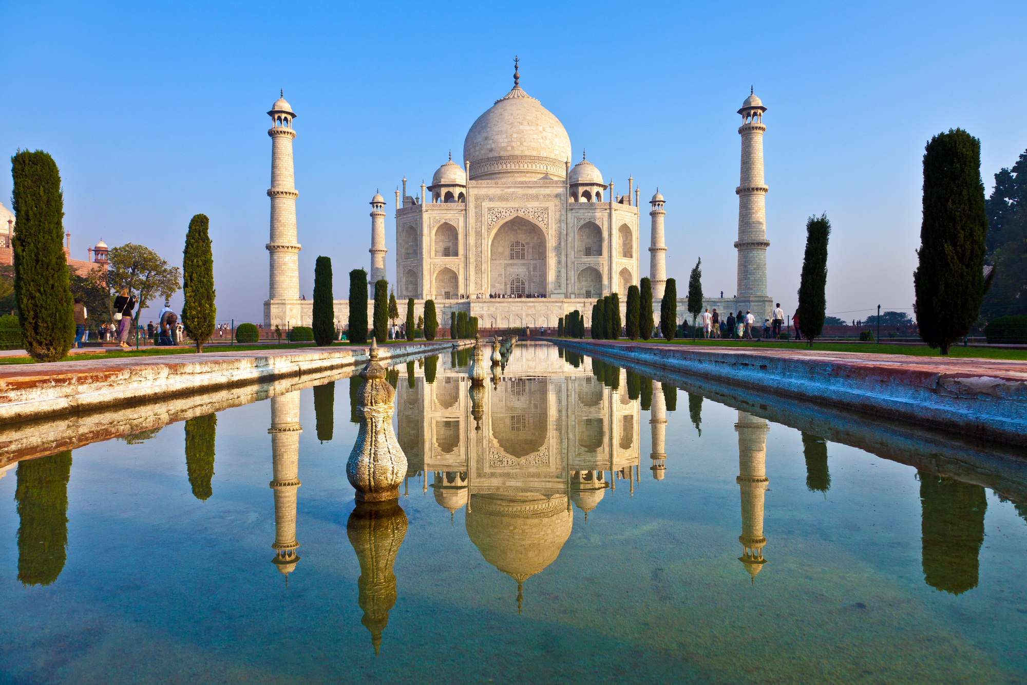 Taj Mahal, na Índia