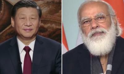 Xi Jinping e Narendra Modi